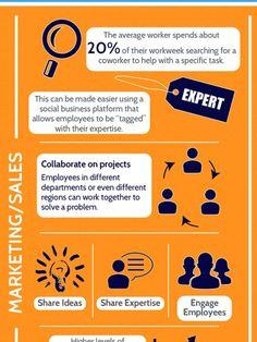 Social Business Platforms Infographic