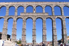 Roman Aquaduct in Spain.  I need to see this in person.
