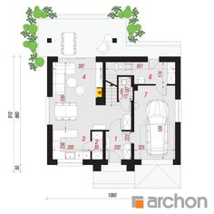 Dom w lucernie 10 Architectural House Plans, Micro House, Traditional House, Floor Plans, How To Plan, Architecture, House Ideas, Home Plans, Arquitetura