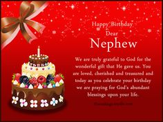 Nephew Birthday Messages: Happy Birthday Wishes for Nephew Wordings and Messages