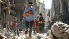 Image copyright                  AFP Image caption                                      More than 2,000 people have been killed in fighting over the past 40 days in Aleppo                                A partial truce brokered by the US and Russia in Syria is due to come into effect at sunset on Monday, the beginning of the Islamic festival of Eid al-Adha. If successful, it will see President Bashar al-Assad's forces end air strikes on