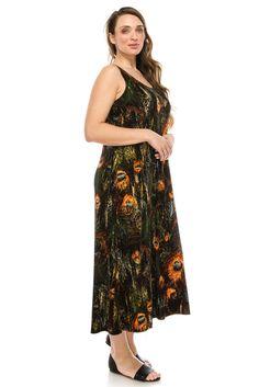 St. John\'s Bay® Sleeveless V-Neck Maxi Dress - Plus found at ...