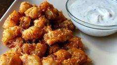 CHEESY RANCH AND BACON POTATO NUGGETS