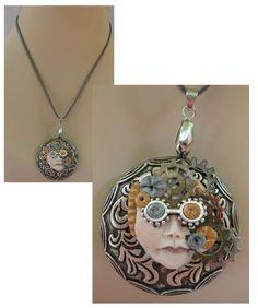 Steampunk Goggles Pendant Necklace   http://www.ebay.com/itm/160892200118?ssPageName=STRK:MESELX:IT&_trksid=p3984.m1555.l2649
