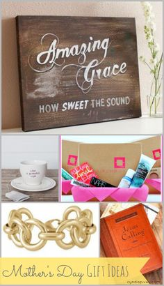 It's time to start thinking about Mother's Day gift ideas! Although I no longer have my Mom with me, I picked these gifts out thinking of her and what she might like. Mothers Day Crafts, Fathers Day Gifts, Staff Appreciation Gifts, Diy Gifts, Great Gifts, Mother's Day Printables, Cyndi Spivey, Mother's Day Diy, Inexpensive Gift