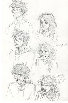Harry and Ginny inside jokes