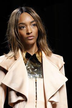 Jourdan Dunn for Balmain show at PFW Paris Fashion Week 2016