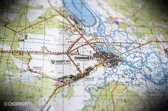 Map Of Chernobyl