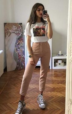 Musa do estilo: Mari Malibu - Guita Moda - Outfit Ideen Cute Casual Outfits, Retro Outfits, Simple Outfits, Stylish Outfits, Unique Outfits, Cute Vintage Outfits, Casual Dresses, Teen Fashion Outfits, Outfits For Teens