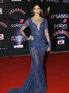 Pooja Hegde at the red carpet of Stardust Awards 2016 Bollywood Actress Hot Photos, Indian Bollywood Actress, Bollywood Girls, Beautiful Bollywood Actress, Bollywood Fashion, South Indian Actress Photo, Indian Actress Photos, Indian Actresses, Beautiful Girl Indian