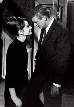 """""""Charade"""" starring Audrey Hepburn and Cary Grant"""