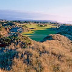 """Pacific Dunes Course  BANDON DUNES RESORT, BANDON, OREGON    Located on a remote, otherwise seldom-visited Oregon coast-line, Bandon Dunes is the """"it"""" golf course for people who know what's up and are looking to avoid the status-conscious excess of other American courses. The setting among the high dunes was one of heartbreaking beauty but scant human use before Mike Keiser, the resort's founder and owner, arrived here in the 1990s."""