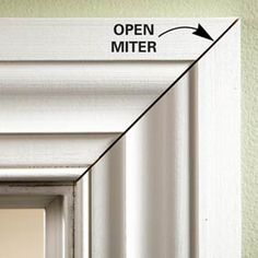 Tips for Tight Miters and Miter Cuts