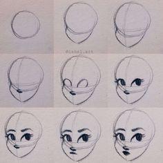 Art Sketchbook Easy Step By Step Art Drawings Sketches Simple, Pencil Art Drawings, Drawing Tips, Cartoon Drawings, Drawing Lessons, Eye Drawings, Realistic Drawings, Body Drawing Tutorial, Face Drawing Tutorials
