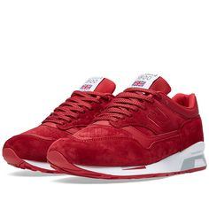 New Balance M1500FR - Made in England 'Flying the Flag' Deep Red