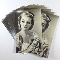 Miss Old Gold Cigarettes Basil Chicago Tobacco Advertising RPPC Postcards #OldGold