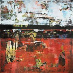 """Saatchi Art Artist Shawn Mcnulty; Painting, """"Jacksonville Orange Abstract"""" #art"""