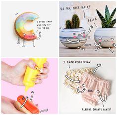 Los objetos que nos rodean pueden convertirse en algo extraordinario con un poco de imaginación y creatividad. Y si no que se lo pregunten a Charly Clemens, una diseñadora ubicada en Berlín que se dedica a dar vida a diferentes objetos inanimados en Instagram.