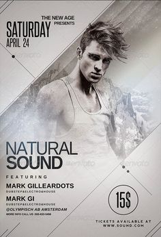 Natural Sound Flyer Template…