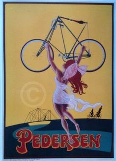 Dursley Pedersen Bicycle Poster