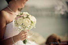 www.zante-weddings.gr Lace Wedding, Wedding Flowers, Wedding Dresses, Wedding Ideas, Weddings, Fashion, Bride Dresses, Moda, Bridal Gowns