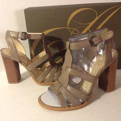 1 hr sale🎉New Enzo Angiolini shoes! Gray premium leather! Nice! PRICE IS FIRM Enzo Angiolini Shoes
