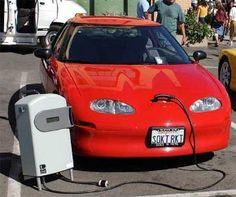 Hybrid car, electric car