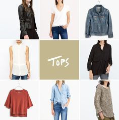 Spring Wardrobe - The Must Haves   |  The Fresh Exchange