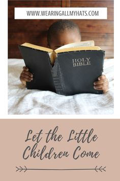 The faith of a child is something special. Children are not critical and skeptical like adults. They are so trusting and have such faith that even Jesus told adults to believe as children do. It's important to show our children Christ in the way we live everyday by the things we say and do. Little Children, Something Special, Christianity, Faith, Let It Be, Live, Little Boys, Loyalty, Boy Babies