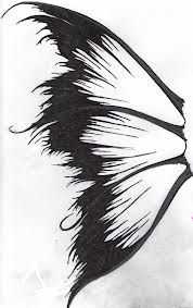 fairy wings by XxslitthroatxX on DeviantArt - Wings drawing Easy Fairy Drawing, Fairy Wings Drawing, Fairy Drawings, Butterfly Drawing, Fairytale Drawings, Butterfly Fairy, Butterfly Wings, Drawing Tips, Drawing Sketches