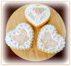 "Vanilla cookies ""Butterflies in the heart"""