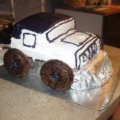 Daddy's JEEP Cake