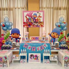 Pocoyo birtday