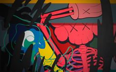 Kaws : NYC : characters, toys, letters
