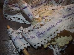 livre rouleau - Journal textile - Nadine Levé