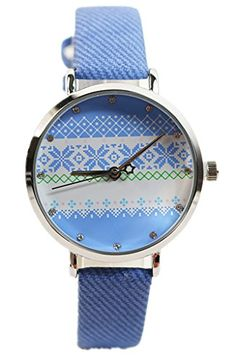 Kezzi Women's K1057 Casual Retro Quartz Bohemian Dial Leather Watch Blue Kezzi http://www.amazon.com/dp/B00X68US4Q/ref=cm_sw_r_pi_dp_0Lzvvb04VBHNT