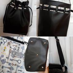 Sac à main Calypso modèle @verosacotin #handbag #simili #clé #keys #black #mojahomemade #handmade #artisan #madeinFrance #noel #cadeau #femme #lyon #lyonnaise #cadeaudenoel #similicuir
