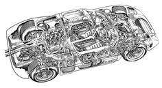 9 amazing Ford GT40 cutaways - Motorsport Retro