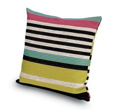 SINTRA cushion MissoniHome 2016 Tropical Fish outdoor collection  #MissoniHome