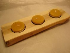 Wooden Candle Holder style