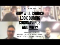 How Will the Church Look During Coronavirus and WHY? - YouTube