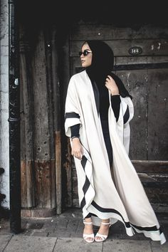 GCC I'm coming for ya. --- I'm sure many of you by now have seen this new open abaya style that has become very popular, especially in the Gulf.