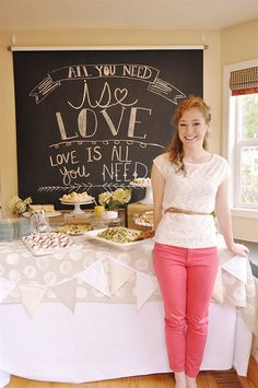 Tea Party Bridal Shower (or birthday or just because)