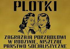 PLOTKI ZAGRAŻAJĄ PORZĄDKOWI W RODZINIE, NISZCZĄC PAŃSTWO SOCJALISTYCZNE #polska#prl#humor#plotki#rodzina#panstwo#socjalizm#panstwosocjalistyczne