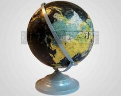 Moving Ring Globe Made of Iron