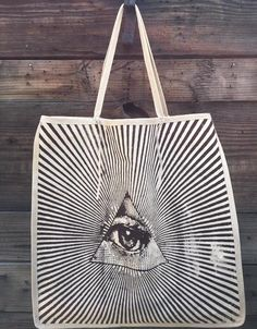 all seeing eye tote
