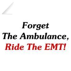funny emt   Funny Paramedic Wall Decals