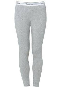 Calvin Klein Underwear MODERN COTTON - Nattøj bukser - grey heather - Zalando.dk
