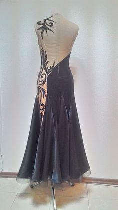 Платье для бальных танцев. Стандартная программа.