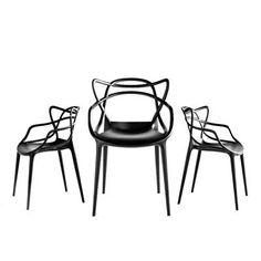 Cadeira Masters - Philippe Starck - Kartell (www.novoambiente.com/kartell)R$946,56